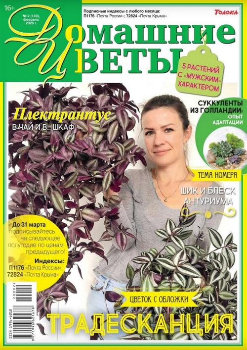 Домашние цветы №2 (февраль/2020)