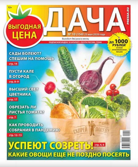 Дача №10 (май/2020)
