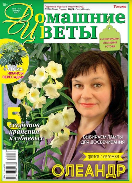 Домашние цветы №10 (октябрь/2020)
