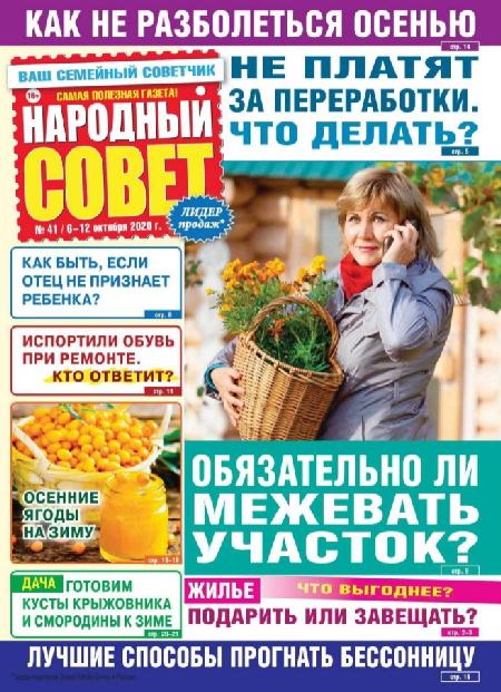 Народный совет №41 (октябрь/2020)